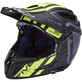 Leatt DBX 5.0 Composite Helmet black/yellow